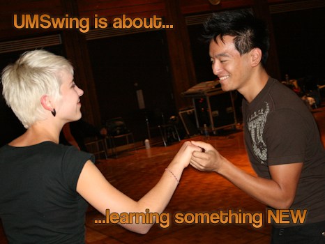 UMSwing is about learning something new