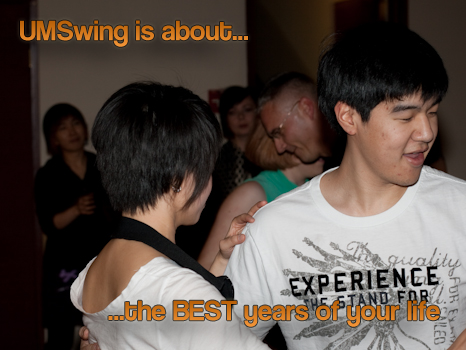UMSwing is about the best years of your life